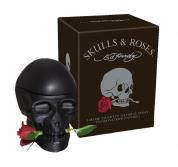 ED HARDY SKULLS & ROSES 2.5 EAU DE TOILETTE SPRAY FOR MEN