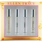 ELLEN TRACY 4*10ML COLLECTION SET: ELLEN TRACY EDP + ELLEN EDP + TRACY EDP + BRONZE EDP