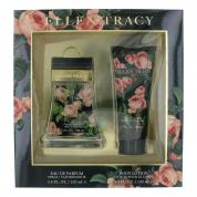 ELLEN TRACY FLORAL COURAGEOUS 2 PCS SET FOR WOMEN: 3.4 EAU DE PARFUM SPRAY + 3.4 BODY LOTION