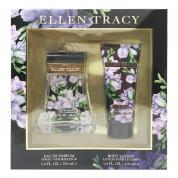 ELLEN TRACY FLORAL RADIANT 2 PCS SET FOR WOMEN: 3.4 EAU DE PARFUM SPRAY + 3.4 BODY LOTION