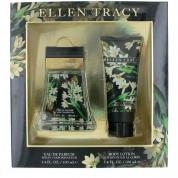 ELLEN TRACY FLORAL CONFIDENT 2 PCS SET FOR WOMEN: 3.4 EAU DE PARFUM SPRAY + 3.4 BODY LOTION