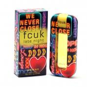 FCUK LATE NIGHT 3.4 OZ EAU DE TOILETTE  SPRAY FOR WOMEN