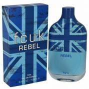 FCUK REBEL 3.4 EAU DE TOILETTE SPRAY FOR MEN