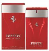 FERRARI MAN IN RED 3.3 EAU DE TOILETTE SPRAY FOR MEN