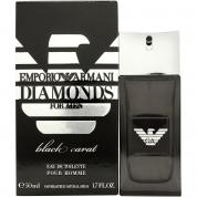 ARMANI EMPORIO DIAMONDS BLACK CARAT 1.7 EAU DE TOILETTE SPRAY FOR MEN