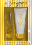 GIORGIO YELLOW 2 PCS SET FOR WOMEN: 3OZ SP