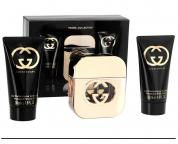 GUCCI GUILITY 3 PCS SET FOR WOMEN: 1.7 EDT SP (TRAVEL SET)