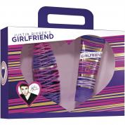 JUSTIN BIEBER GIRLFRIEND 2 PCS SET: 1 OZ EAU DE PARFUM SPRAY + 3.4 TOUCHABLE BODY LOTION (WINDOW BOX)