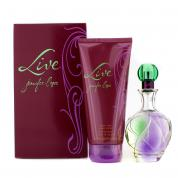 J LO LIVE 2 PCS SET: 3.4 EDT SP + 6.7 BODY LOTION