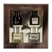 KENNETH COLE 4 PCS SET FOR MEN: BLACK 15 ML SP + REACTION 15 ML SP + VINTAGE BLACK 15 ML SP + REACTION THERMAL 15 ML
