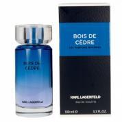 LAGERFELD BOIS DE CEDRE 3.4 EAU DE TOILETTE SPRAY FOR MEN