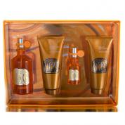 CURVE KICKS 4 PCS SET FOR WOMEN: 3.4 EDT SP + 1/2 OZ EDT SP + 3.4 B/L + 3.4 S/G