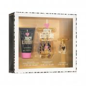 JUICY COUTURE I LOVE JUICY COUTURE 3 PCS SET: 1.7 EDP SP + 5 ML EDP + 1.7 BODY SOUFFLE