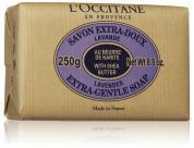 L'OCCITANE EXTRA GENTLE LAVENDER SOAP 8.8 OZ