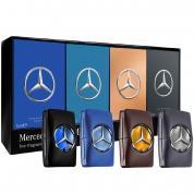 MERCEDES-BENZ 5ML X 4 PCS MINI SET FOR MEN: MAN + MAN BLUE + MAN PRIVATE + MAN GREY