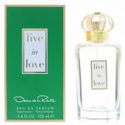 OSCAR DE LA RENTA LIVE IN LOVE 3.4 EAU DE PARFUM SPRAY