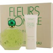 FLEURS D'OMBRE JASMIN-LILAS 2 PCS GIFT SET FOR WOMEN: 3.4 EDT SP