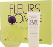 FLEURS D'OMBRE VIOLETTE-MENTHE 2 PCS GIFT SET FOR WOMEN: 3.4 EDT SP