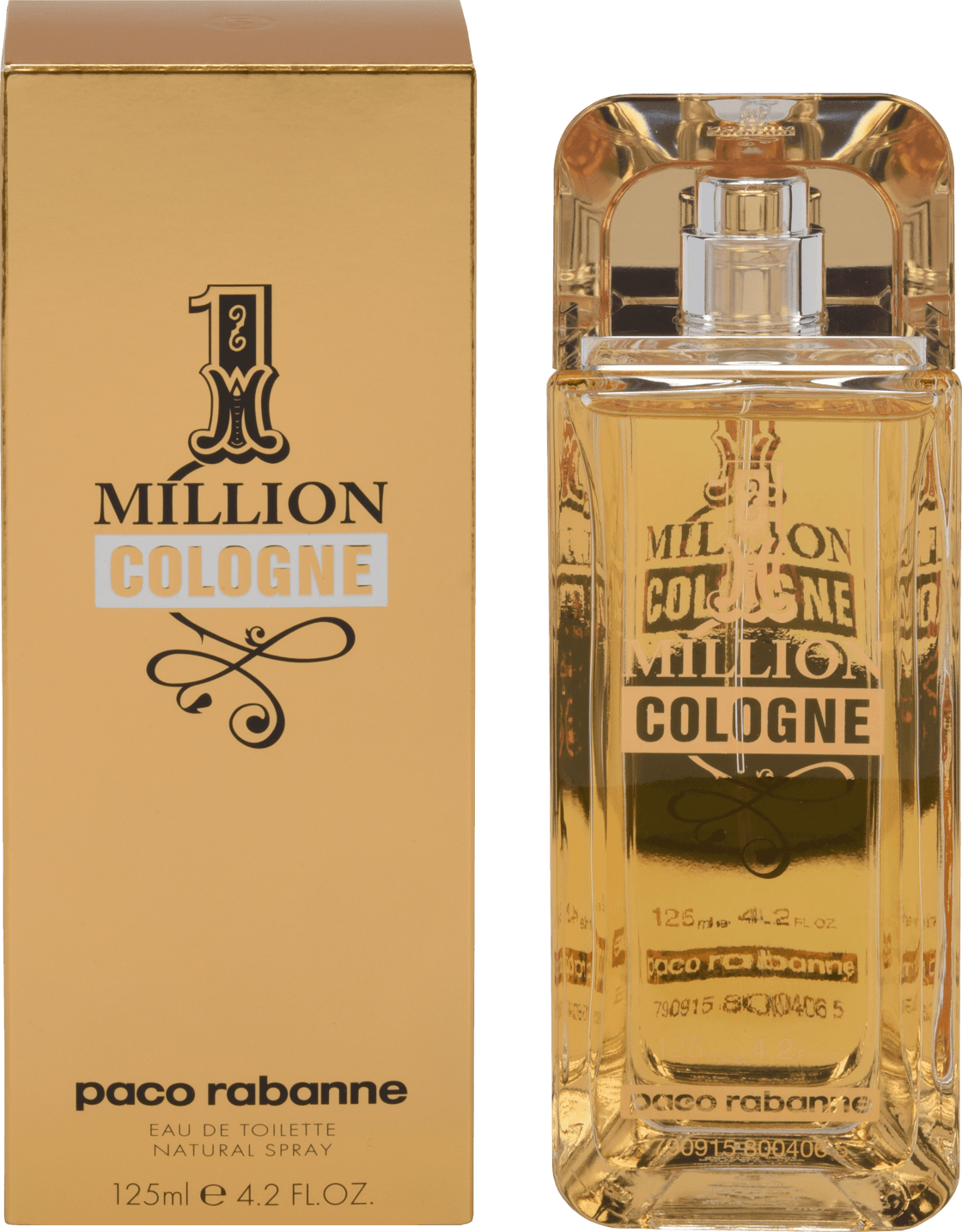 PACO ONE MILLION COLOGNE 4.2 EDT SP FOR MEN