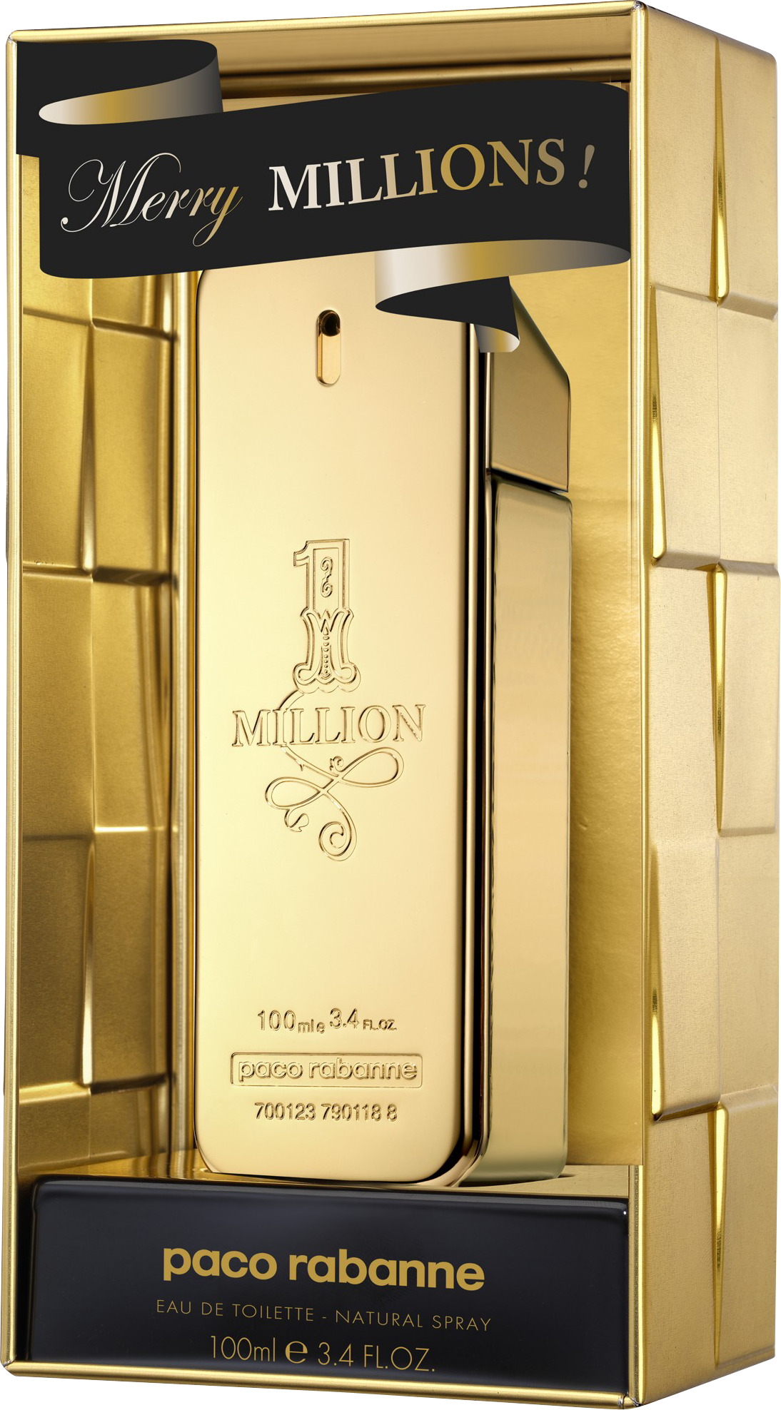 PACO ONE MILLION 3.4 EDT SP FOR MEN LIMITED EDITION