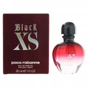PACO RABANNE BLACK XS 1 OZ EAU DE PARFUM SPRAY FOR WOMEN