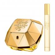 PACO LADY MILLION 2 PCS SET: 2.7 EAU DE PARFUM SPRAY + 0.68 EAU DE PARFUM