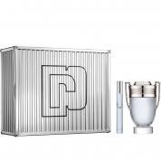 PACO INVICTUS 2 PCS SET: 5.1 EAU DE TOILETTE SPRAY + 0.33 OZ EAU DE TOILETTE SPRAY
