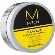 PAUL MITCHELL M MITCH CLEAN CUT MEDIUM HOLD/SEMI-MATTE STYLING CREAM 0.35 OZ
