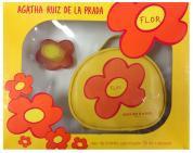 AGATHA RUIZ DE LA PRADA FLOR 2 PCS SET FOR WOMEN: 1.7 SP