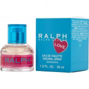 RALPH LOVE 1 OZ EAU DE TOILETTE SPRAY
