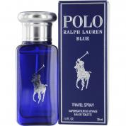 POLO BLUE 1 OZ EDT SP FOR MEN  (TRAVEL)