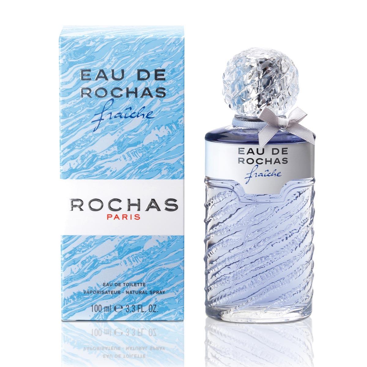 EAU DE ROCHAS FRAICHE 3.4 EAU DE TOILETTE SPRAY FOR WOMEN