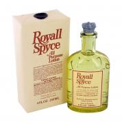 ROYALL SPYCE 8 OZ ALL PURPOSE LOTION / COLOGNE SPLASH