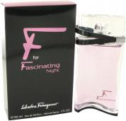 SALVATORE FERRAGAMO F FOR FASCINATING NIGHT 3 OZ EDP SP