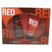 SAMBA RED 2 PCS SET FOR WOMEN: 3.3 EDT SP + 4.4 BODY LOTION
