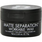 TIGI BED HEAD MATTE SEPARATION WORKABLE WAX 2.65 OZ FOR MEN