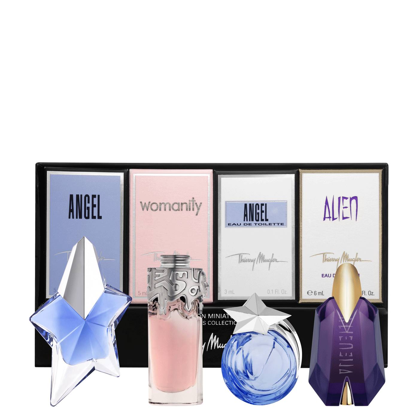 THIERRY MUGLER 4 PCS SET FOR WOMEN