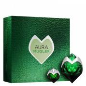 AURA MUGLER 2 PCS SET FOR WOMEN: 1.7 EAU DE PARFUM SPRAY + 0.17 OZ EAU DE PARFUM