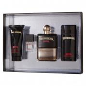 TRUE RELIGION DRIFTER 4 PCS SET FOR MEN: 3.4 SP