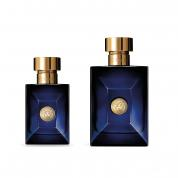 VERSACE DYLAN BLUE 2 PCS SET: 3.4 EAU DE TOILETTE SPRAY + 1 OZ EAU DE TOILETTE SPRAY (HARD BOX)