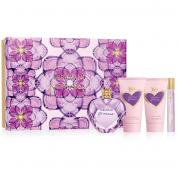 VERA WANG PRINCESS 4 PCS SET: 1.7 EDT SP + 2.5 B/L + 2.5 S/G + 10 ML EDT ROLLERBALL