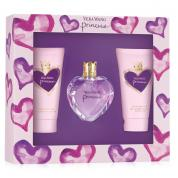 VERA WANG PRINCESS 3 PCS SET: 1 OZ EDT SP + 2.5 BODY LOTION + 2.5 SHOWER GEL